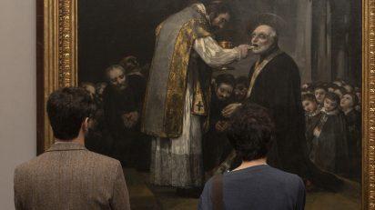 Imagen de la obra en sala. Foto. © Museo Nacional del Prado.