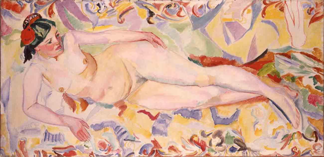 Francisco Iturrino. Desnudo, 1910. Colección particular, Madrid.