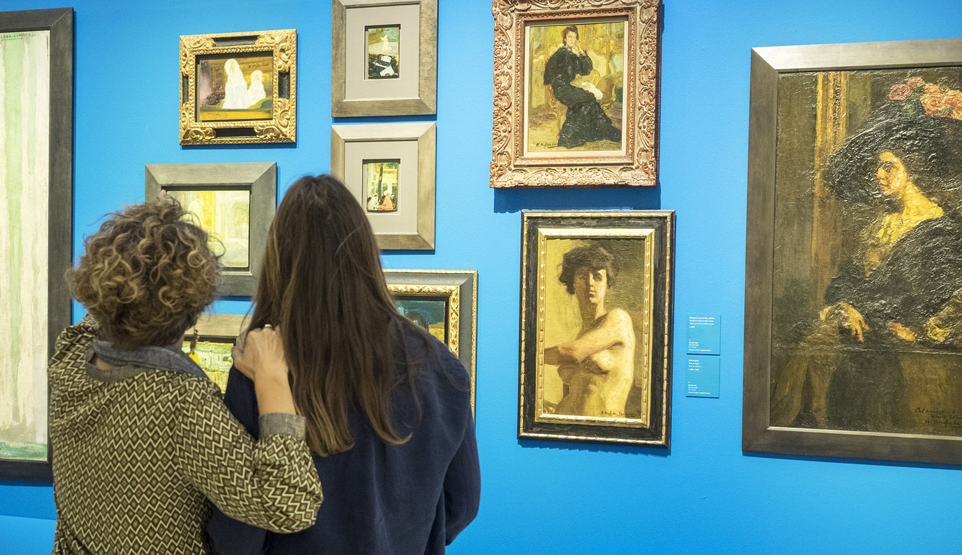 """H. Anglada-Camarasa. Una revisión pictórica de la Colección """"la Caixa""""."""