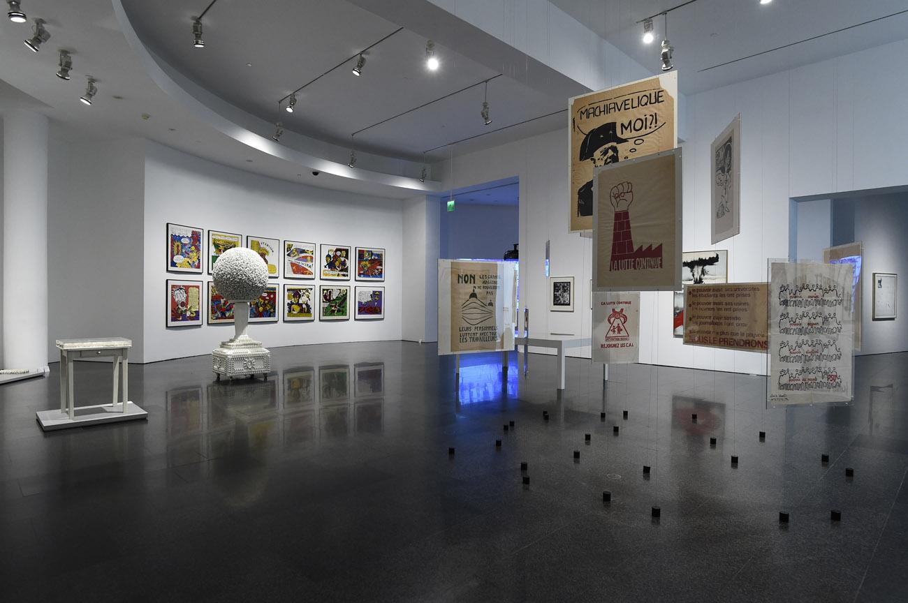 Colección MACBA. Bajo la superficie. Foto: Miquel Coll.