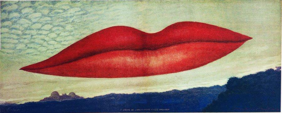Man Ray. A l'Heure de l'Observatoire - Les Amoureux, 1932-4/1970. Collection Clo and Marcel Fleiss, París © Man Ray Trust, VEGAP, Barcelona, 2018.