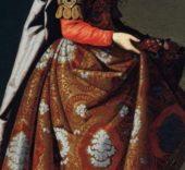 Francisco de Zurbarán. Detalle de Santa Casilda, c. 1635. © Museo Nacional Thyssen-Bornemisza.