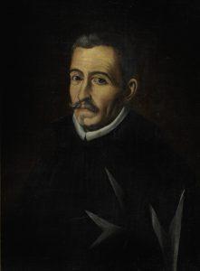 Anónimo. Retrato de Lope de Vega (detalle). Siglo XVII.