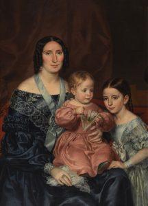 Rafael Tegeo. La familia Barrio, ca. 1839, Museo del Prado.