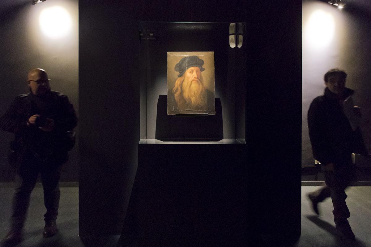 Leonardo da Vinci. Los rostros del genio. © Luis Domingo.