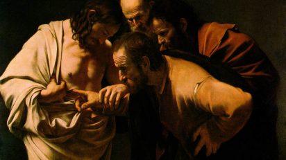 Caravaggio. La incredulidad de Santo Tomás.