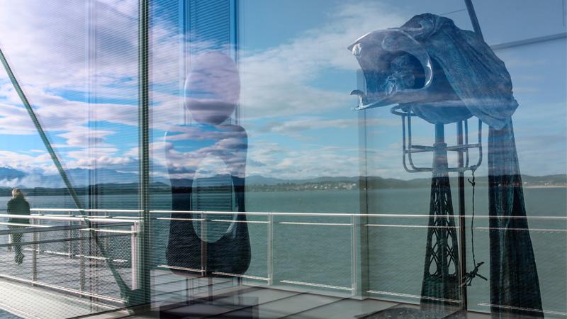 Vista de las obras cedidas de Miró. Foto: Belén de Benito.