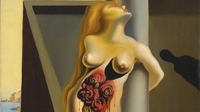 Salvador Dalí. Les roses sanglantes (detalle), 1930. Colección de Arte ABANCA.