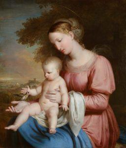 Rafael Tegeo. Virgen del Jilguero, 1825-1828.