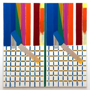 Bernard Piffaretti. Untitled. 2018.