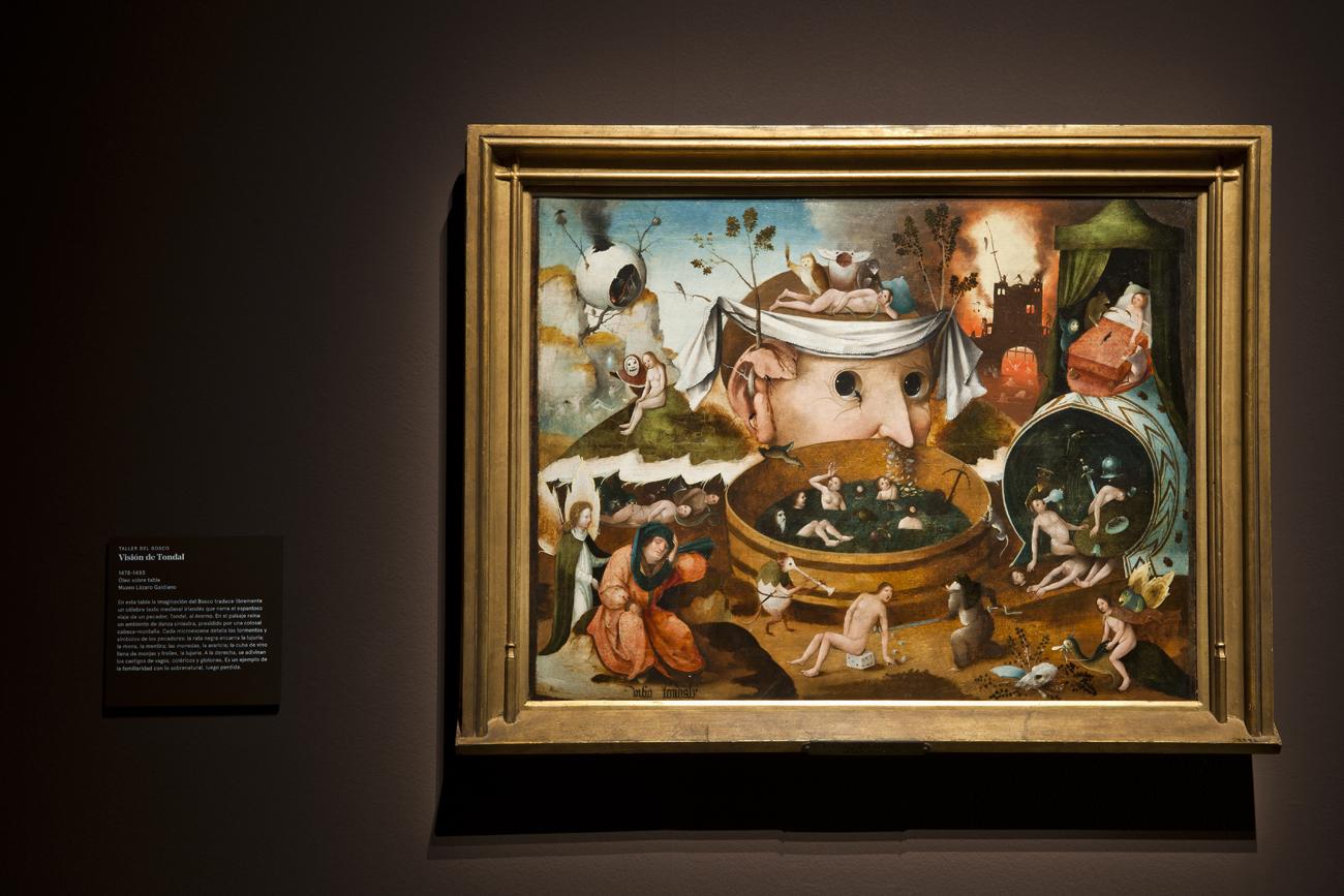 El Diablo, tal vez. El mundo de los Brueghel. Museo Nacional de Escultura.