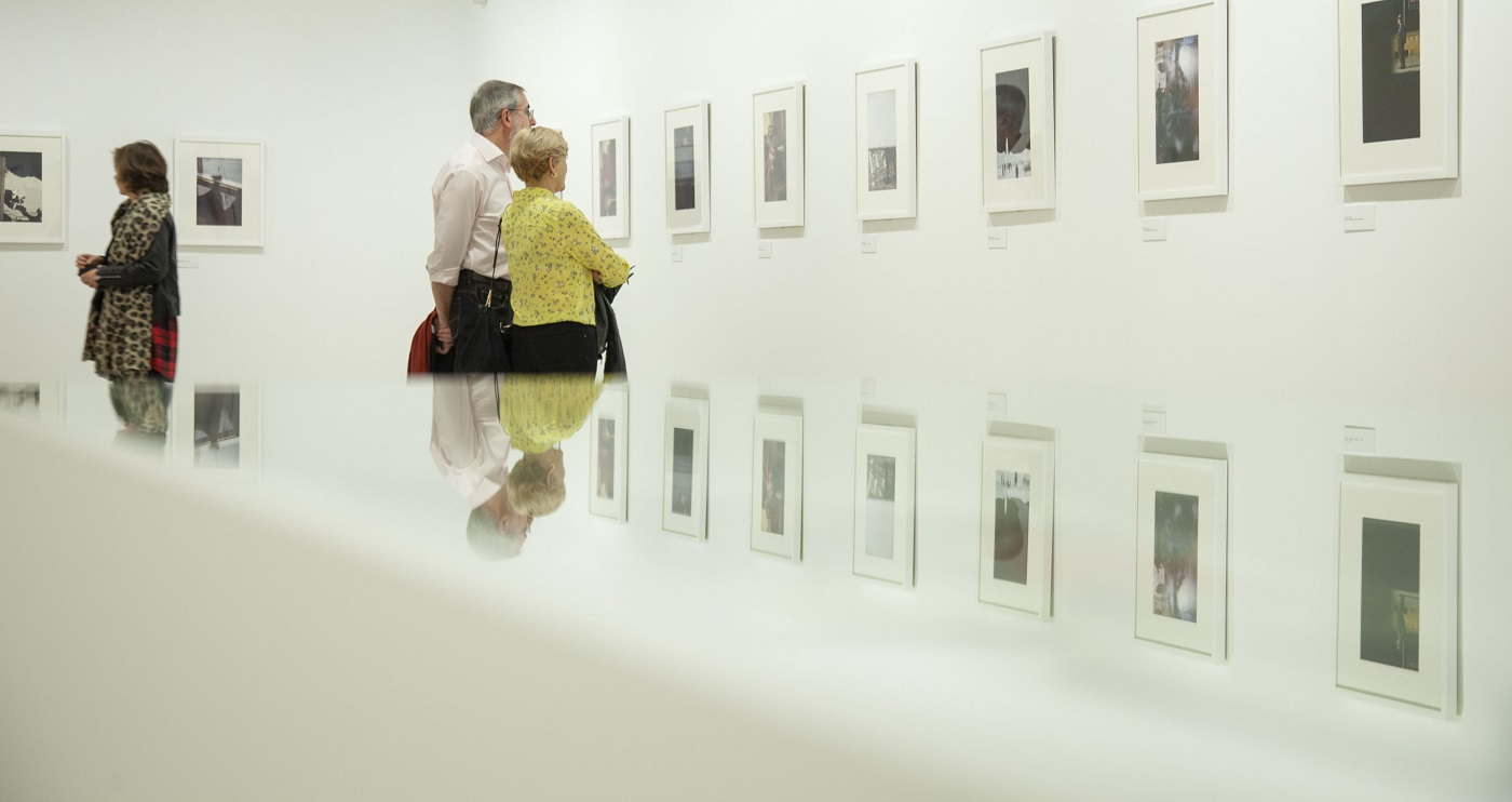 Saul Leiter en el Museo Patio Herreriano.
