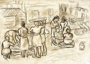 Laxeiro. Pescantinas, 1940-1950.