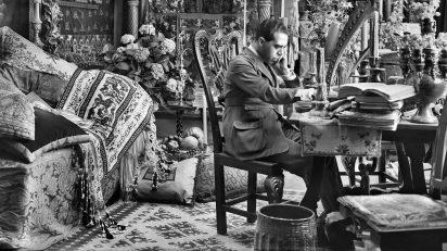 Vicente Moreno, ca. 1925-1928. Néstor Martín-Fdez de la Torre en su estudio en Madrid.