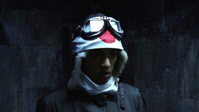 Meiro Koizumi. Portrait of a young samurai.