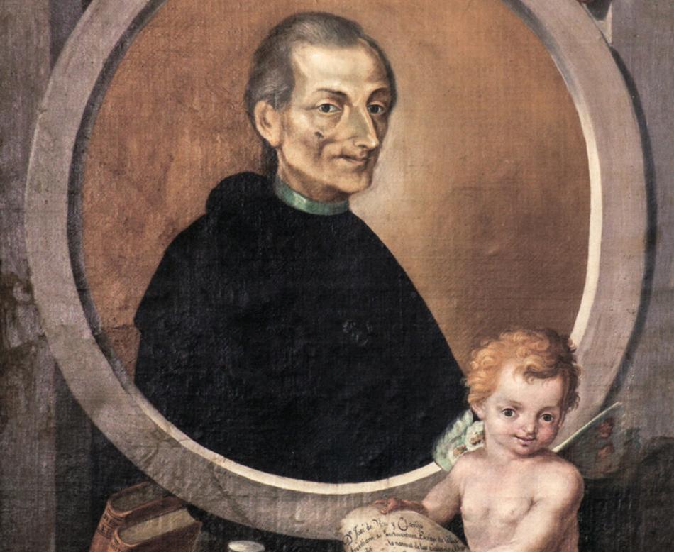 José de Ossavarry: José de Viera y Clavijo, 1812. Catedral de Santa Ana, Las Palmas de Gran Canaria.
