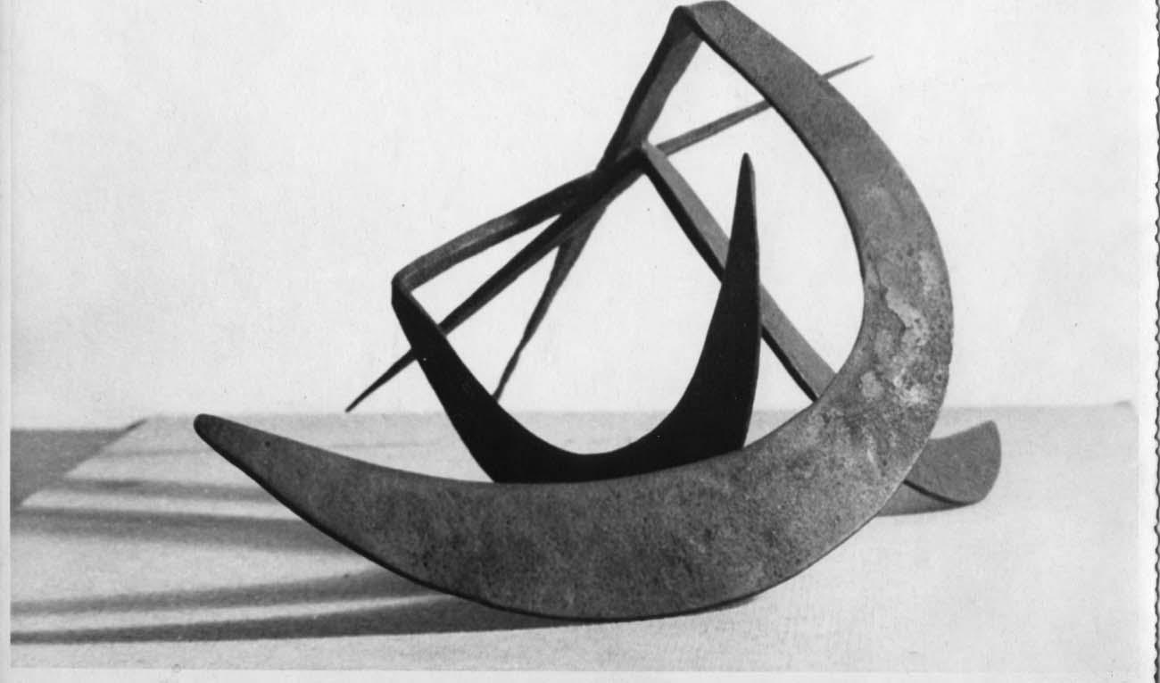 Tres I. Eduardo Chillida. 1952. Cortesía de la Galería Guillermo de Osma.