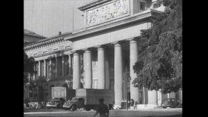 """""""Madrid: el Tesoro Artístico Nacional vuelve a su sede"""", noticia extraída del """"Noticiario Español Nº 24"""", 1939. Imágenes cedidas por Filmoteca Española."""