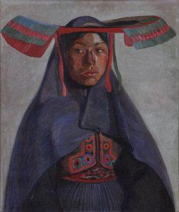 José Sabogal (Perú). La india del Collao, 1925.