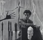Alberto Giacometti, 1951. Fotografía de Gordon Parks. Fondation Giacometti, París. © The Gordon Parks Foundation.