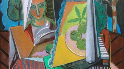 Lorenzo González. COMPOSICIÓN. Óleo/tela, 81×100 cm.