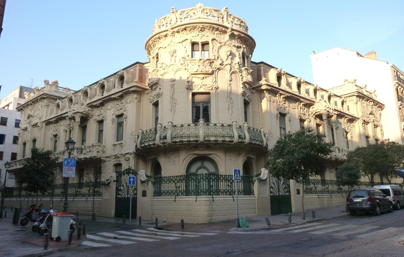 Palacio Longoria de Madrid, sede de la SGAE.