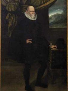 Retrato de Simón Ruiz. Círculo de Juan Pantoja de la Cruz. Hacia 1595. Fundación Simón Ruiz (obra depositada en la Fundación Museo de las Ferias).