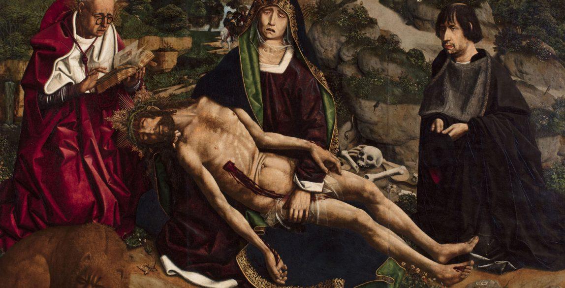 Bartolomé Bermejo. Piedad Desplà, 1490. © Catedral de Barcelona (Fotògraf: Guillem F-H).