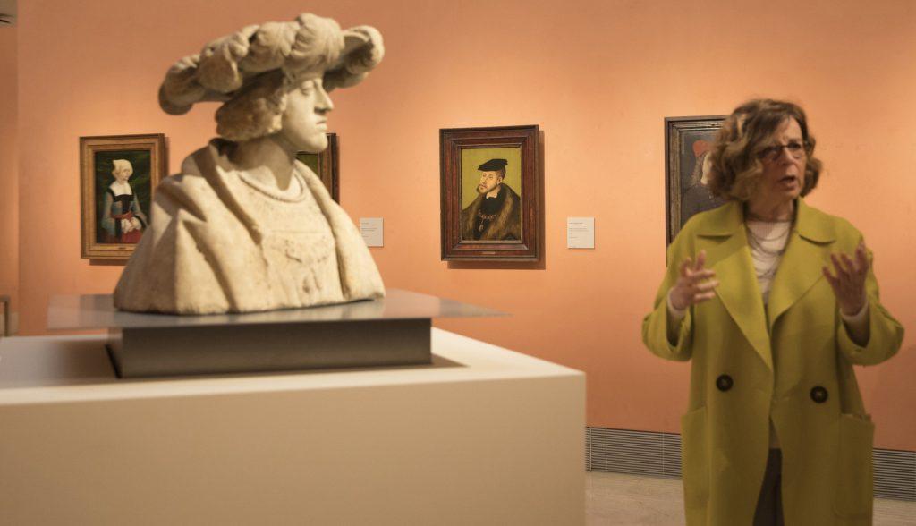 María Bolaños, directora del Museo Nacional de Escultura.