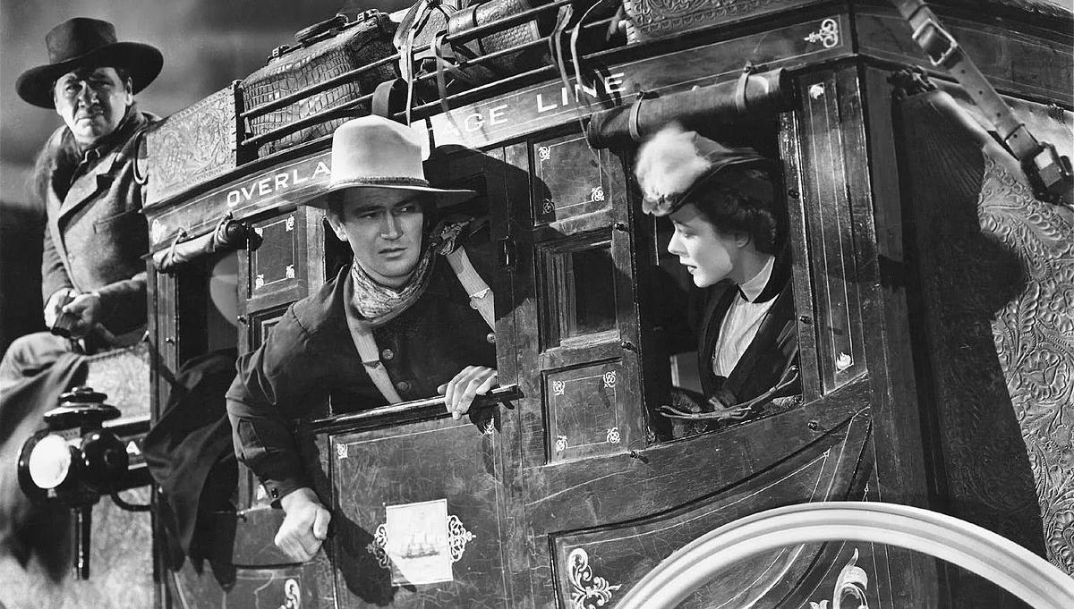 La diligencia (1939).