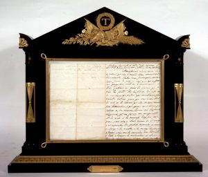 Última carta de Torrijos a su esposa, Luisa Sáenz de Viniegra, 11 de diciembre de 1831 Madrid, Archivo del Congreso de los Diputados.