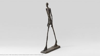 Hombre que camina II, 1960. Alberto Giacometti.