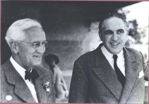 Fleming y Marañón.