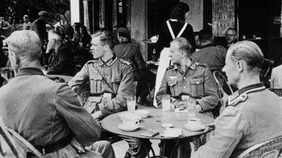 París durante la ocupación alemana. Vía Wikipedia.