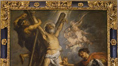 Peter Paul Rubens. El martirio de san Andrés. Fundación Carlos de Amberes, Madrid.