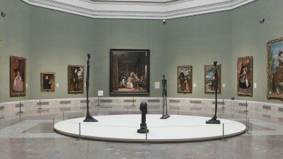 Imagen de las salas de exposición. ©Alberto Giacometti Estate / VEGAP, Madrid, 2019. ©Museo Nacional del Prado.