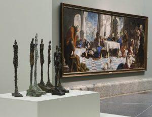 Carmen Giménez, comisaria de la exposición. ©Alberto Giacometti Estate / VEGAP, Madrid, 2019. ©Museo Nacional del Prado.