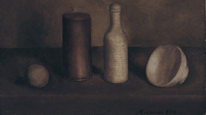 Giorgio Morandi. Naturaleza muerta, 1920. Istituzione Bologna Musei/Museo Morandi. © Giorgio Morandi, VEGAP, Bilbao, 2019.