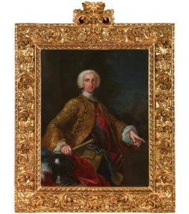 GIUSEPPE BONITO. Don Carlos de Borbón, rey de las Dos Sicilias. 1745.