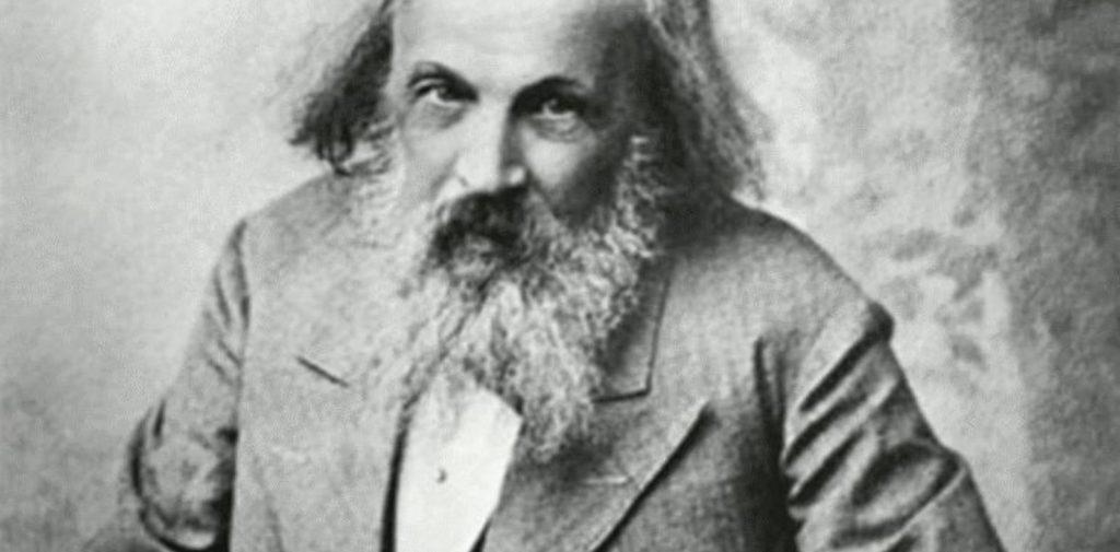 Dmitri Ivánovich Mendeléyev.