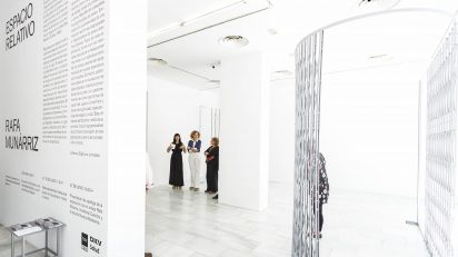 Rafa Munárriz. 'Espacio Relativo'. Sala de Arte Joven.