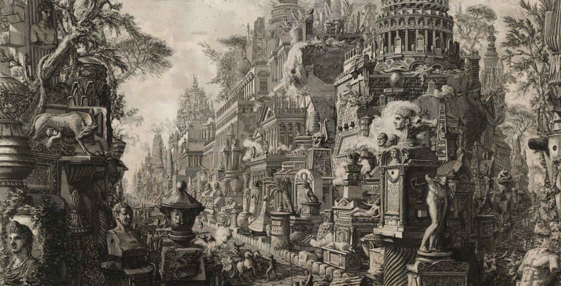 Le Antichità Romane opera di Giambatista Piranesi architetto veneziano (INVENT/19049 v.2).
