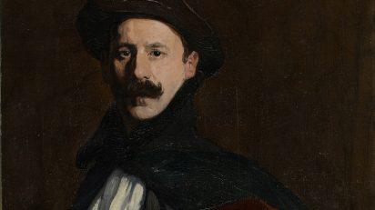 Zuloaga. Autorretrato. 1908. Óleo sobre lienzo. 112 x 71 cm. The Hispanic Society of America, Nueva York.