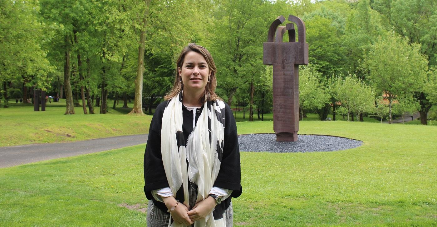 Mireia Massagué, directora de Chillida Leku.