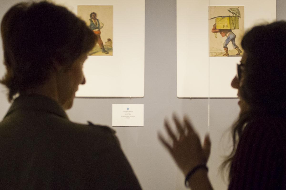 'Dibujos de Alenza: escenas, costumbres y peligros de Madrid'. ©Luis Domingo.