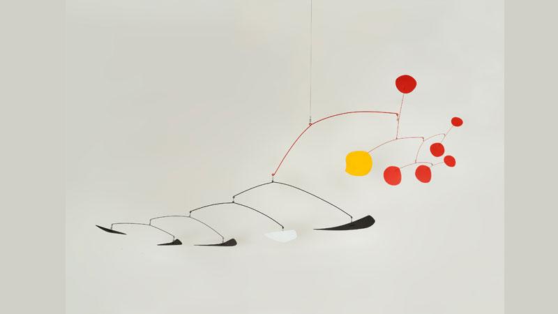 Alexander Calder. Guava, 1955.