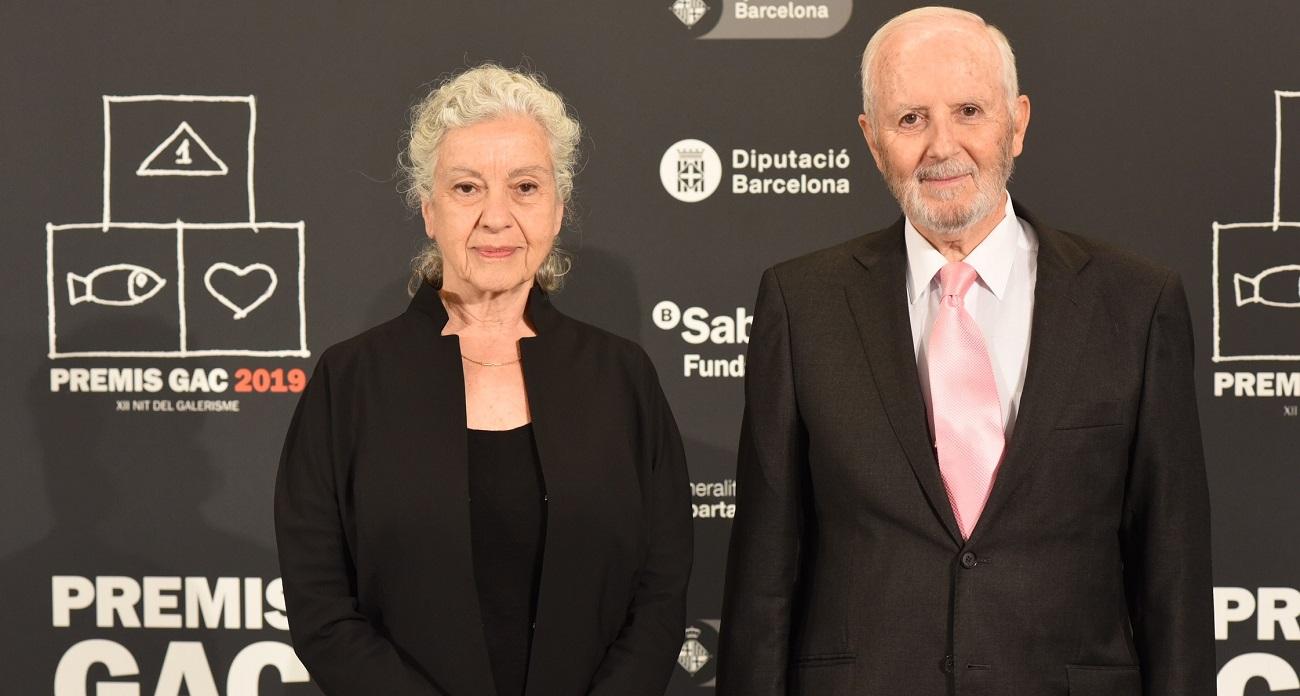 Àngels Ribé y Fernando Pinós. Premis Honorífics GAC 2019. © Jordi Estruch.