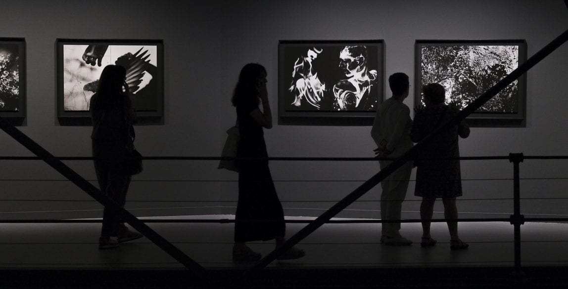 """Exposición """"Universos. David Jiménez""""."""