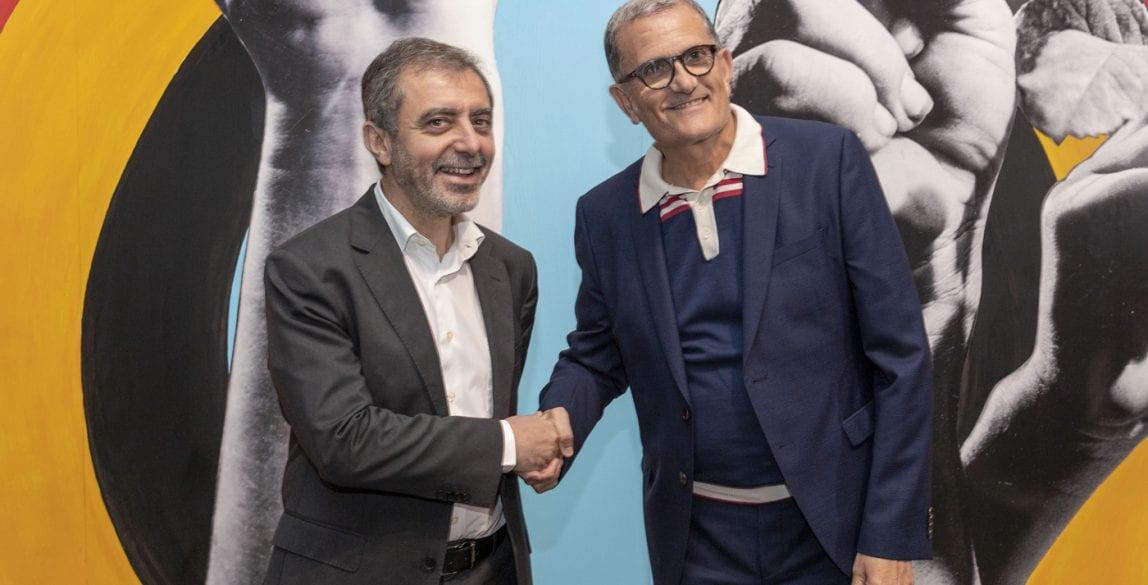 Manuel Borja-Villel, director del Museo Reina Sofía, y José Miguel G. Cortes, director del IVAM.