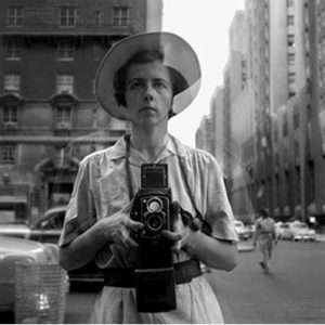 Self-portrait. © Estate of Vivian Maier, Courtesy of Maloof Collection and Howard Greenberg Gallery, NY.